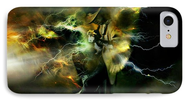 Srv Electric Angel IPhone Case by Craiger Martin