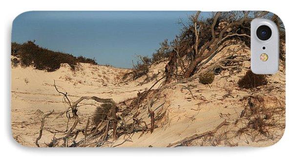 St Joseph Sand Dunes Phone Case by Adam Jewell