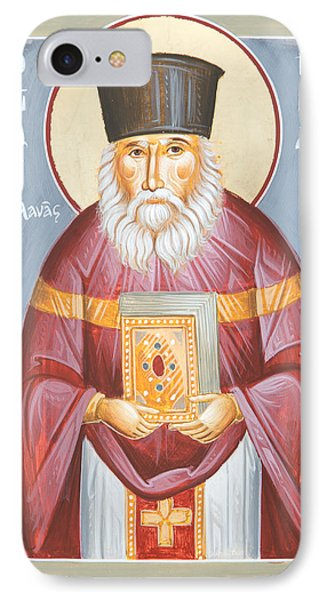 St Nicholas Planas IPhone Case by Julia Bridget Hayes