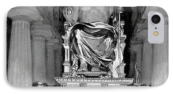 Statue Of Zeus At Olympia IPhone Case by Cci Archives
