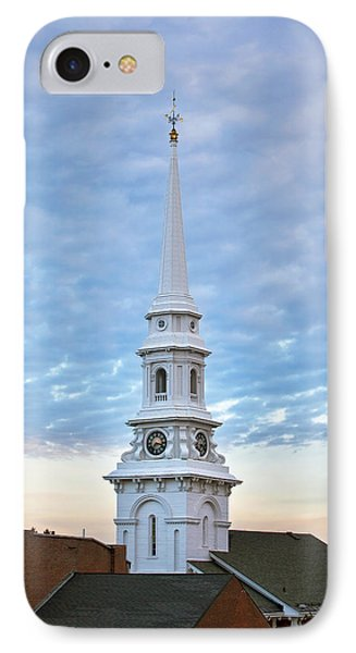 Steeple And Rooftops Phone Case by Eric Gendron