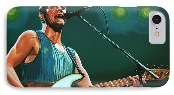 Sting IPhone Case by Paul Meijering