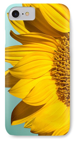 Sunflower IPhone 7 Case by Mark Ashkenazi