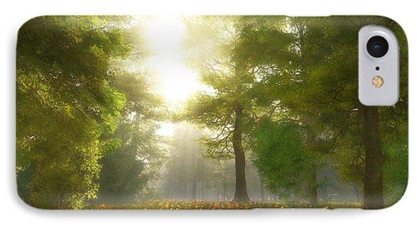 Sunlit Meadow Phone Case by Cynthia Decker