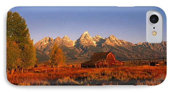 Sunrise Grand Teton National Park Wy Usa IPhone Case by Panoramic Images