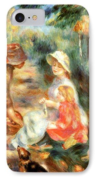 The Apple Seller Phone Case by Pierre-Auguste Renoir