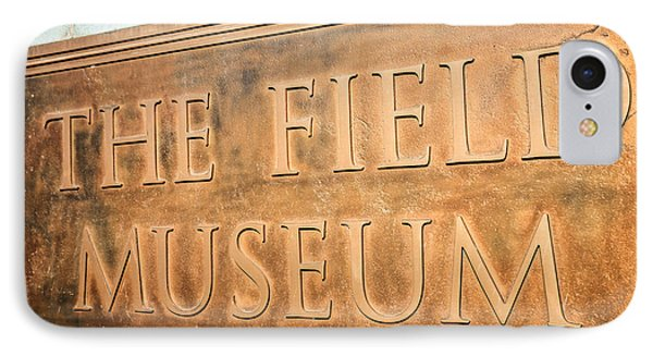 The Field Museum Sign In Chicago Illinois Phone Case by Paul Velgos