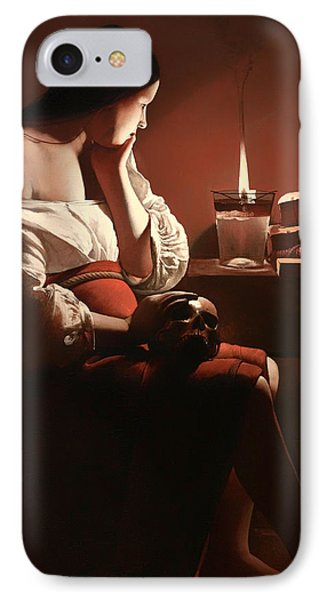 The Magdalen With The Smoking Flame IPhone Case by Mountain Dreams