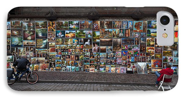 The Open Air Art Gallery IPhone Case by Panoramic Images