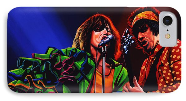 The Rolling Stones 2 IPhone Case by Paul Meijering