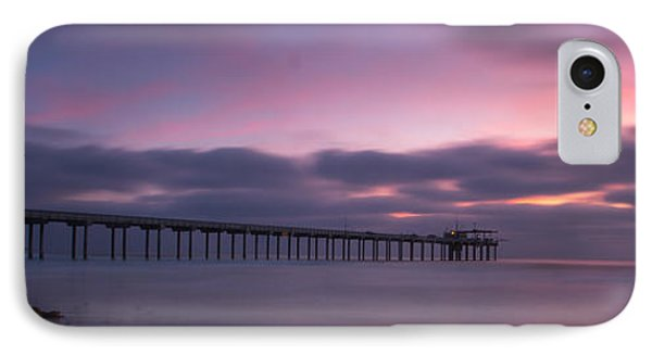 The Scripps Pier IPhone Case by Peter Tellone