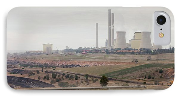 The Yan Lang Coal Fired Power Station IPhone Case by Ashley Cooper