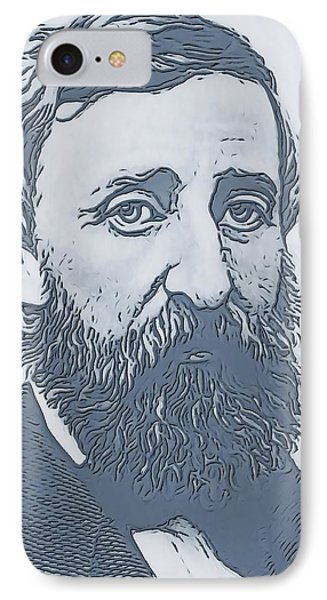 Thoreau IPhone Case by Dan Sproul