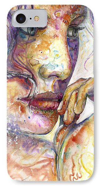 Thoughts IPhone Case by Frank Robert Dixon