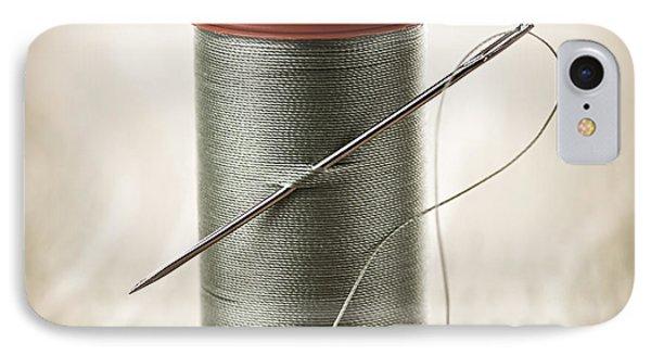 Thread And Needle IPhone Case by Elena Elisseeva