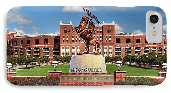 Unconquered IPhone 7 Case by John Douglas