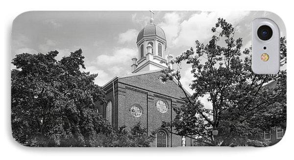 University Of Dayton Chapel IPhone Case by University Icons