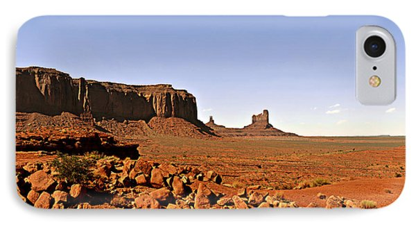 Utah's Iconic Monument Valley Phone Case by Christine Till