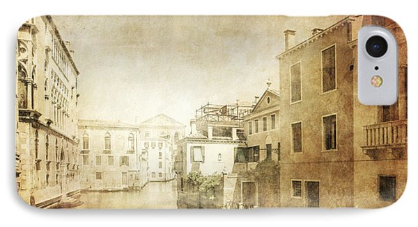 Vintage Photo Of Venetian Canal Phone Case by Evgeny Kuklev