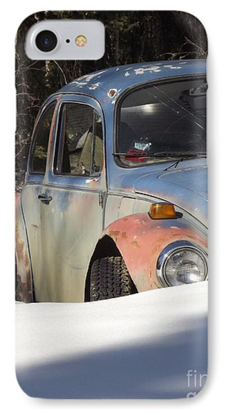Volkswagen Beetle Phone Case by Jennifer Kimberly