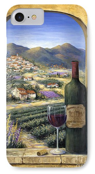 Wine And Lavender IPhone Case by Marilyn Dunlap