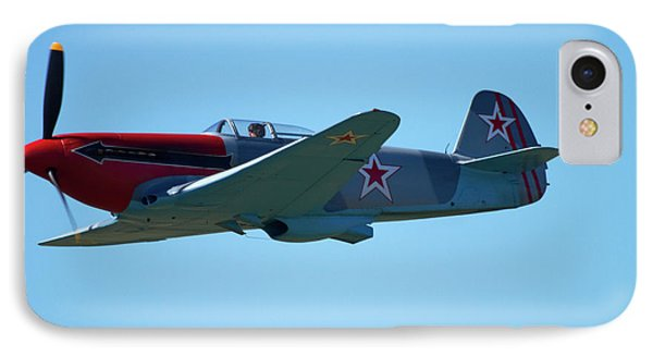 Yakovlev Yak-3 - Wwii Russian Fighter IPhone Case by David Wall
