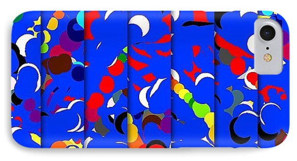 Abstract Phone Case by HollyWood Creation By linda zanini