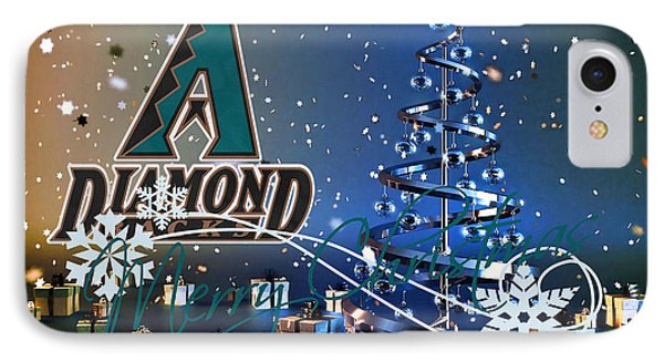 Arizona Diamondbacks IPhone Case by Joe Hamilton