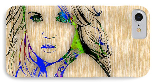 Carrie Underwood IPhone Case by Marvin Blaine