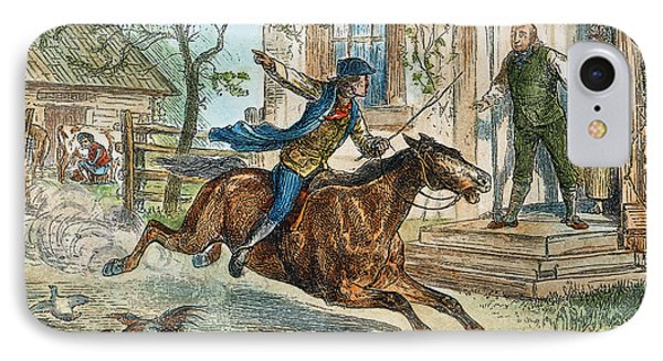 Paul Reveres Ride IPhone Case by Granger