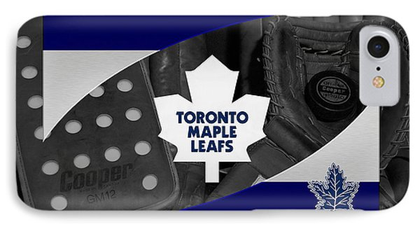 Toronto Maple Leafs Phone Case by Joe Hamilton
