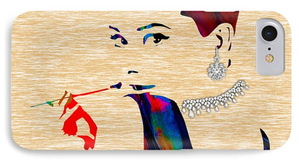 Audrey Hepburn Collection IPhone Case by Marvin Blaine
