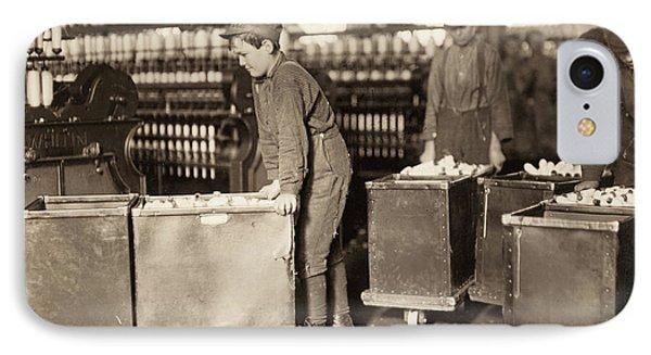 Hine Child Labor, 1908 IPhone Case by Granger