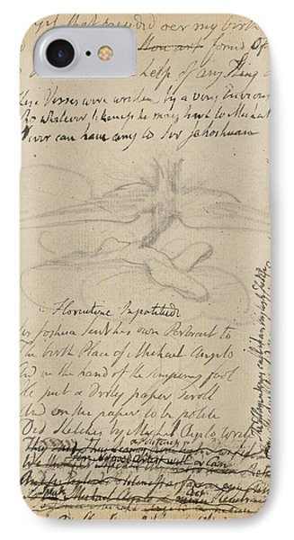 Notebook Of William Blake IPhone Case by British Library
