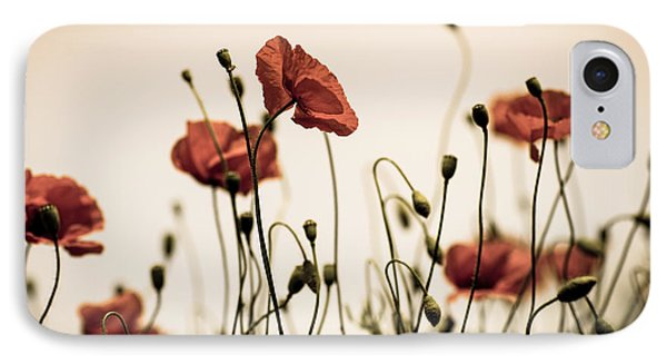 Poppy Meadow IPhone Case by Nailia Schwarz