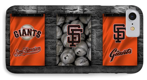 San Francisco Giants IPhone Case by Joe Hamilton