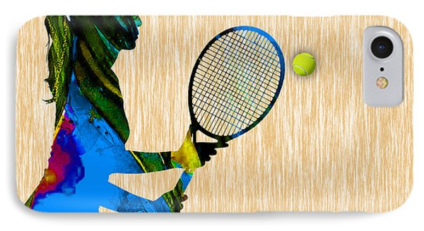 Tennis IPhone Case by Marvin Blaine