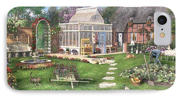 The Cottage Garden IPhone Case by Dominic Davison