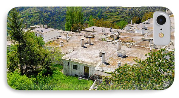 Alpujarras In Granada Phone Case by Guido Montanes Castillo