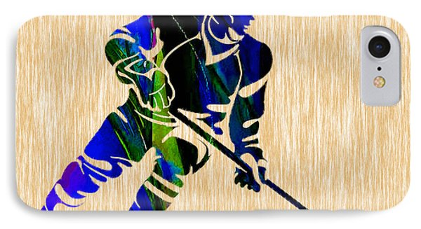 Hockey IPhone Case by Marvin Blaine
