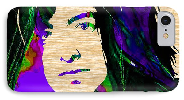 Jimmy Page Collection IPhone Case by Marvin Blaine