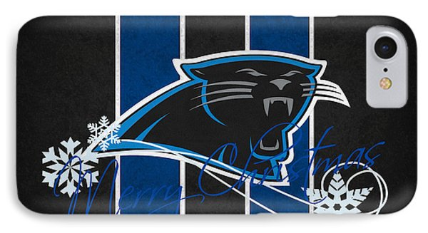 Carolina Panthers Phone Case by Joe Hamilton