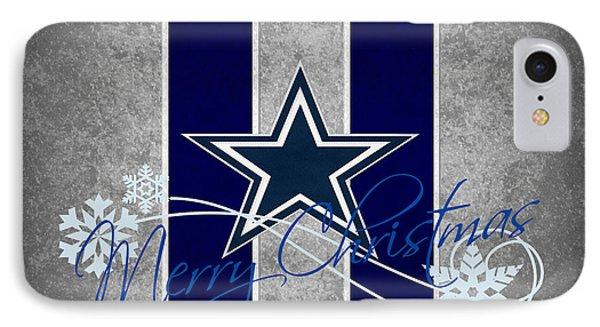 Dallas Cowboys IPhone 7 Case by Joe Hamilton