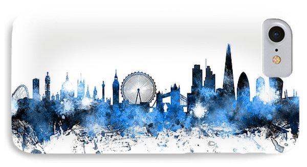London England Skyline IPhone Case by Michael Tompsett