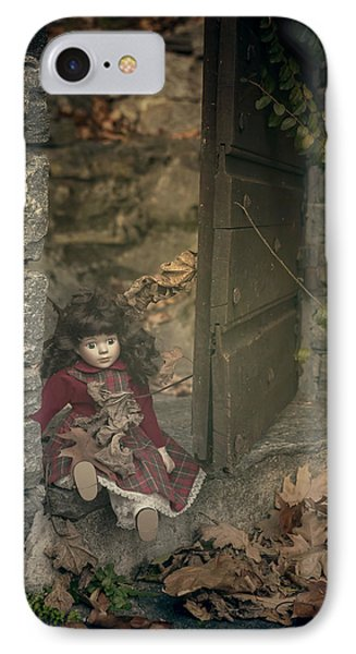 Old Doll Phone Case by Joana Kruse