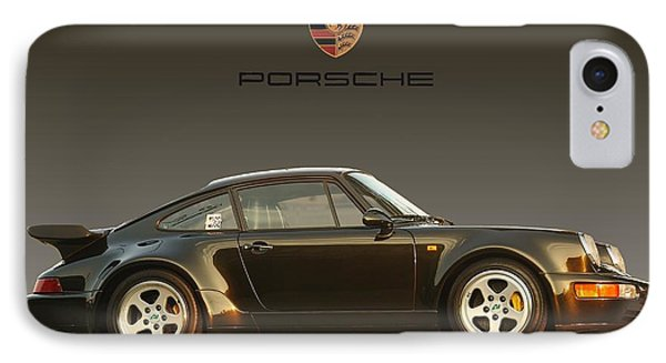 Porsche 911 3.2 Carrera 964 Turbo Phone Case by Ganesh Krishnan