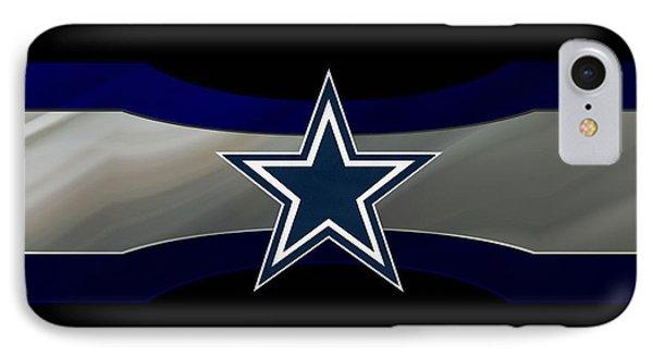 Dallas Cowboys IPhone Case by Joe Hamilton