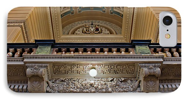 Interior Of St Georges Hall Liverpool Uk Phone Case by Ken Biggs