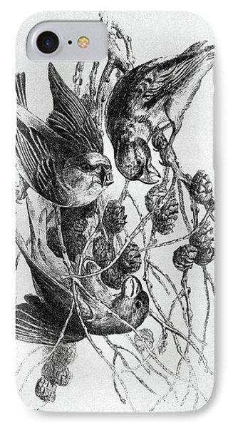 Blackburn Birds, 1895 IPhone 7 Case by Granger