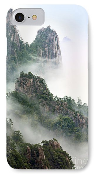 Beauty In Nature IPhone Case by King Wu